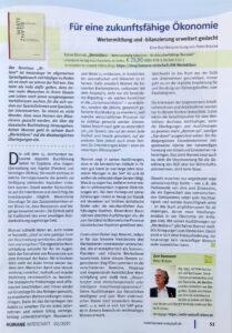 Zeitschrift Humane Wirtschaft